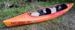 Twin Otter kayak